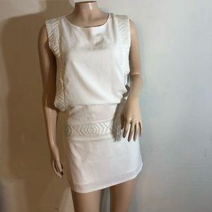 White Adren B. Dress size Small